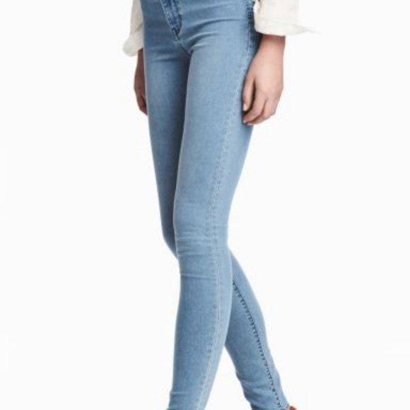 Light Wash Skinny Jeans Size 25